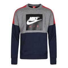 NIKE耐克2018年新款男子AS M NSW CREW AIR FLC卫衣/套头衫886051-092