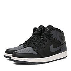 NIKE耐克2018年新款男子AIR JORDAN 1 MID篮球鞋554724-041