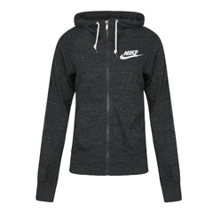 NIKE耐克女子AS NIKE GYM VINTAGE FZ HOODY N夹克904508-010
