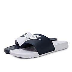 NIKE耐克2018年新款男子BENASSI JDI MISMATCH拖鞋818736-410
