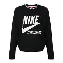 Nike耐克女子AS W NSW CREW ARCHIVE NFS套頭衫AJ7369-010