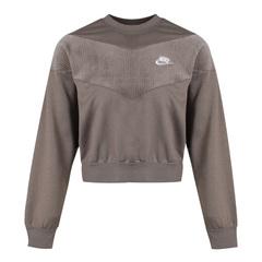 Nike耐克女子AS W NSW HRTG CREW VELOUR衛衣/套頭衫CZ1877-040