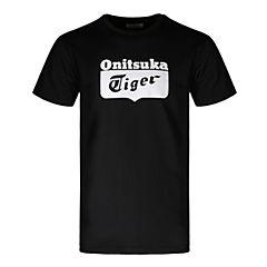 Onitsuka Tiger鬼冢虎 2018新款中性LOGO短袖T恤OKT130-9001