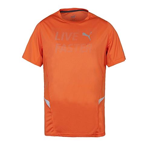PUMA彪马 新款男子跑步系列短袖T恤51306604