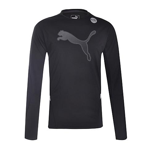 PUMA彪马 新款男子科技跑步系列长袖T恤51349701