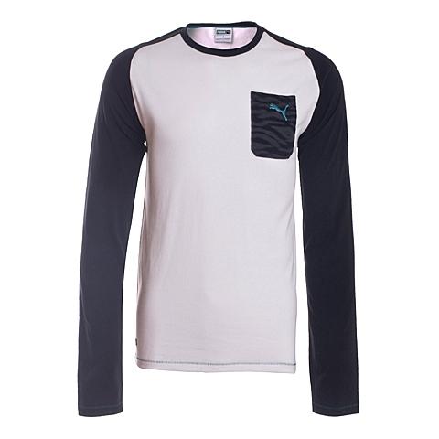 PUMA彪马 新款男子生活系列长袖T恤57032401