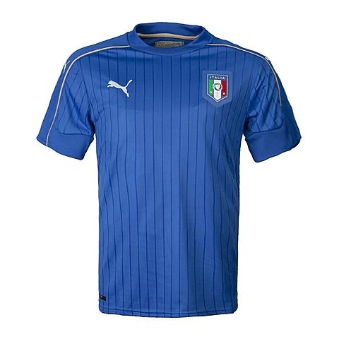 PUMA彪马 2017新款男子意大利足球系列主场球迷版短袖T恤74893301(延续款)