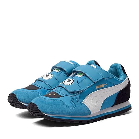 PUMA彪马新款中性芝麻街系列ST Runner Sesame Str CM Kids跑步鞋36082501