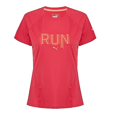 PUMA彪马 新品女子跑步系列短袖T恤51374502