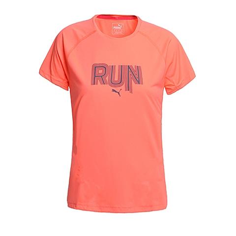 PUMA彪马 新品女子跑步系列短袖T恤51374503