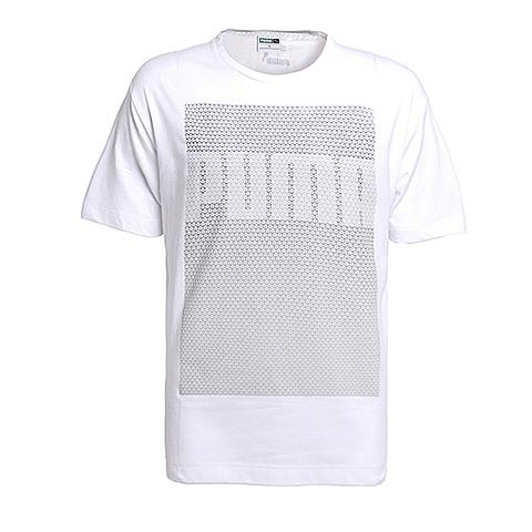 PUMA彪马 新品男子休闲生活系列短袖T恤57126102