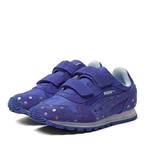 PUMA彪马2016新款女童ST Runner Dotfetti V Kids跑步鞋35982601