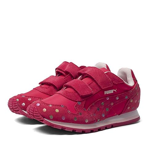 PUMA彪马新款女童ST Runner Dotfetti V Kids跑步鞋35982602