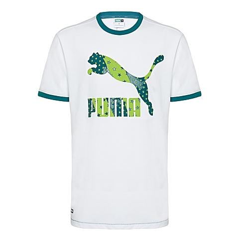PUMA彪马 新品男子生活系列短袖T恤57101601