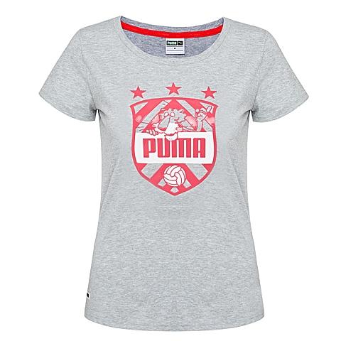 PUMA彪马 新品女子生活系列短袖T恤57103202