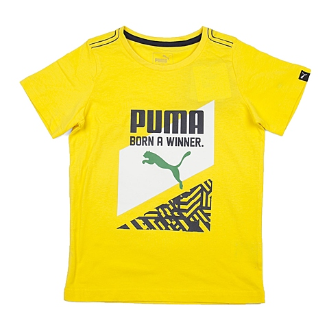 PUMA彪马新款男童基础系列Graphic Fun短袖T恤83670518