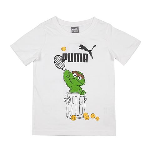 PUMA彪马2016新款男童基础系列芝麻街短袖T恤83671802
