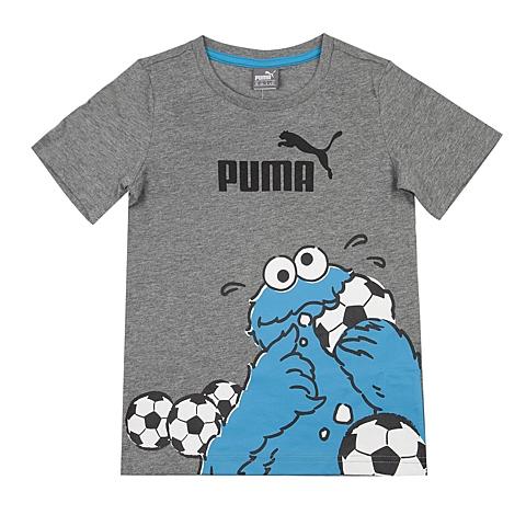 PUMA彪马新款男童基础系列芝麻街短袖T恤83671803