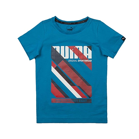 PUMA彪马2016新款男童基础系列Graphic Fun短袖T恤83669110