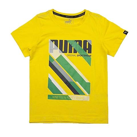 PUMA彪马新款男童基础系列Graphic Fun短袖T恤83669118