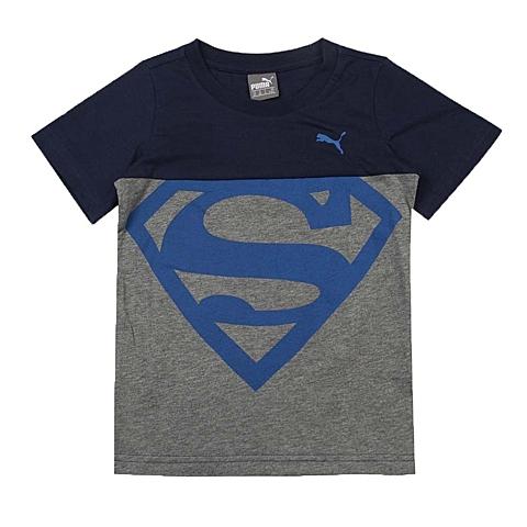 PUMA彪马新款男童基础系列Superman短袖T恤83704206