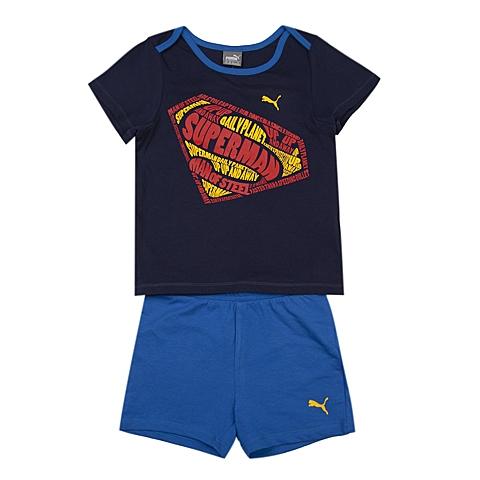 PUMA彪马新款婴童基础系列Superman套服83675106