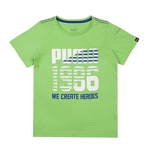 PUMA彪马新款男童基本系列短袖T恤83667420