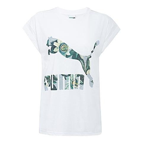 PUMA彪马 新款女子休闲生活系列短袖T恤57135202