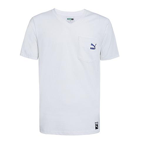 PUMA彪马 新品男子经典生活系列短袖T恤57124102