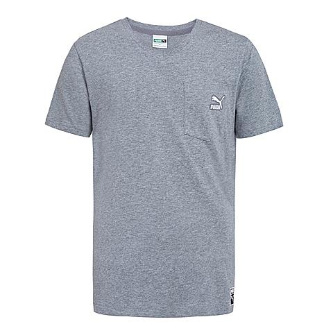 PUMA彪马 新品男子经典生活系列短袖T恤57124103