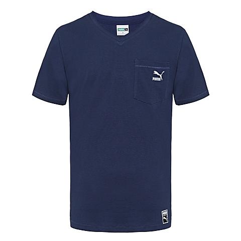 PUMA彪马 新品男子经典生活系列短袖T恤57124108