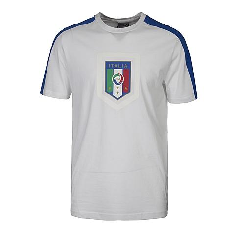 PUMA彪马 新品男子意大利系列 球迷服短袖T恤74910302