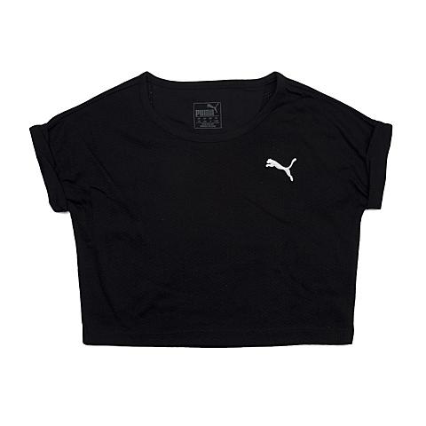 PUMA彪马新款女童基本系列短袖T恤83664101