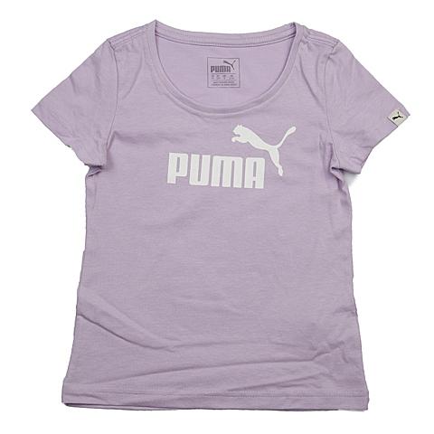 PUMA彪马新款女童基本系列短袖T恤83664928