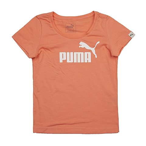 PUMA彪马新款女童基本系列短袖T恤83664934