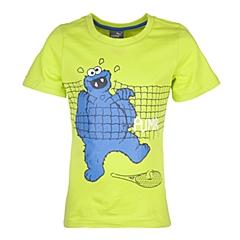 PUMA彪马2016新款男童基础系列Sesame Street Tee短袖T恤83881714
