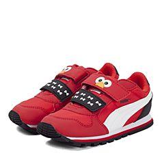 PUMA彪马2017新款中性Sesame Street芝麻街系列ST Runner Elmo HOC V Inf休闲鞋36266401
