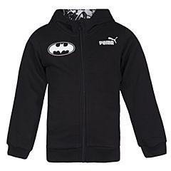 PUMA彪马2017新款男童Batman蝙蝠侠系列STYLE Batman Hooded Sweat Jacket针织外套59071901