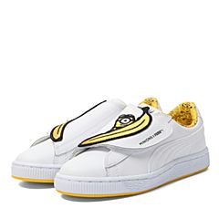 PUMA彪马2017新款中童小黄人系列Minions Basket Wrap State休闲鞋36408101