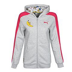 PUMA彪马女小-大童基础系列Minions Hooded Jacket针织夹克59255204