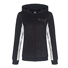 PUMA彪马 女小-大童基础系列Style FZ Hoody针织夹克59267201