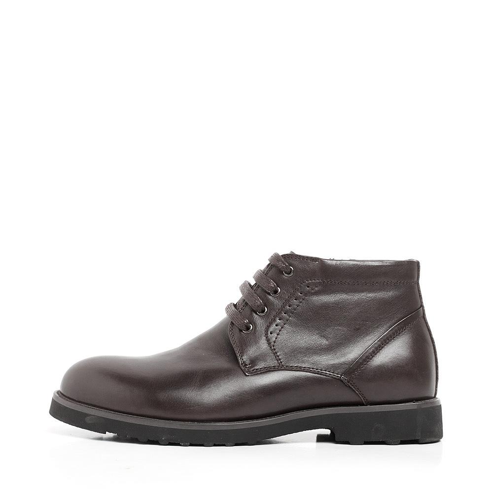 senda/森达冬季棕色牛皮男低靴80-12dd1