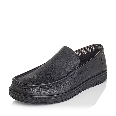Senda/森达秋季专柜同款黑色牛皮男皮鞋FQ110CM5