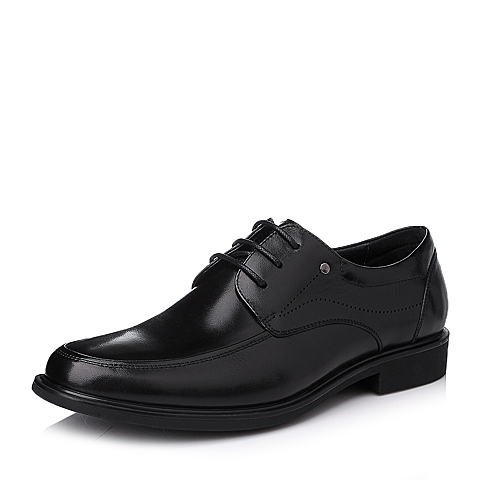Senda/森达冬季黑色时尚商务休闲牛皮男皮鞋M5221DM5