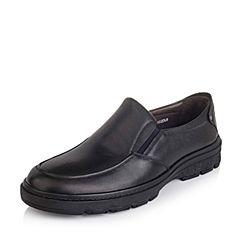 Senda/森达秋季专柜同款黑色打蜡牛皮男皮鞋GD102CM5