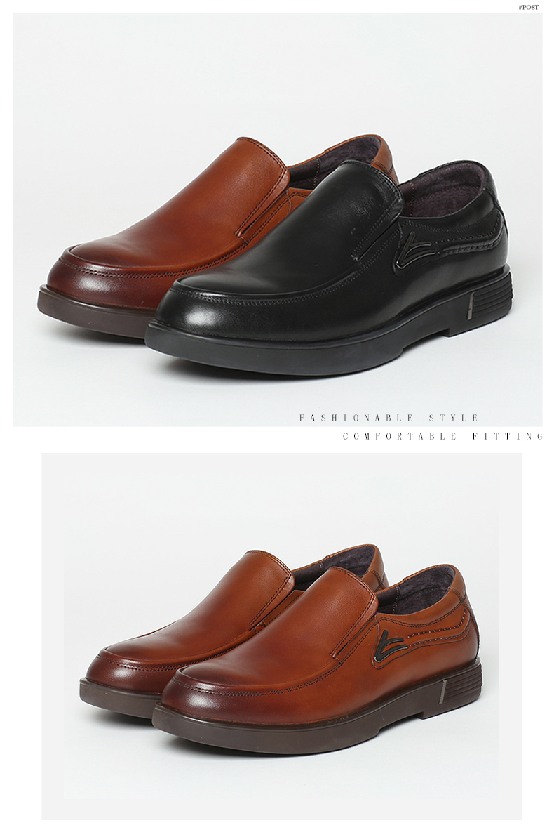 senda/森达秋季专柜同款黑色牛皮男单鞋jy107cm6