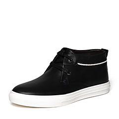 Senda/森达冬季专柜同款时尚潮流舒适牛皮男皮靴KS140DD6