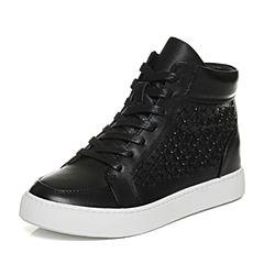 Senda/森达冬季专柜同款时尚潮流休闲舒适女短靴3WA20DD6