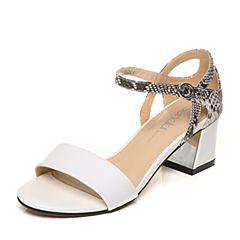 Senda/森达夏季专柜同款时尚优雅女凉鞋F3C06BL6