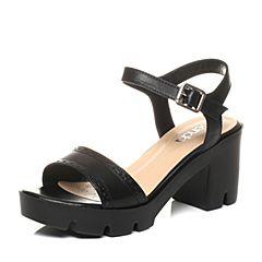 Senda/森达夏季专柜同款时尚甜美女高跟凉鞋G3F04BL7